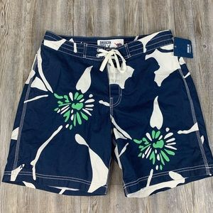 NWT American Eagle Outfitters Swim Trunks Blue